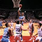 J.R. Reid was arguably UNC's best player in the post-Jordan era. After being drafted by Charlotte with the fifth overall pick in the 1989 NBA draft, Reid played for six teams (including two stints with the Hornets) but never became the star many felt he had the talent to be.