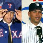 Dec. 11, 2000: The Rangers lured Alex Rodriguez from the Mariners with a monster 10-year, $252 million deal. Traded to the Yankees in 2004, A-Rod opted out of that contract after the 2007 season and signed a 10-year, $275 million deal to remain in pinstripes through 2017.