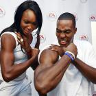 Athletes Flexing Their Muscles