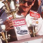 Once Earnhardt and Childress hit their stride, they became an unstoppable force on the Cup circuit, similar to the Jimmie Johnson /Rick Hendrick duo we see today. Here, Earnhardt collects the Cup series title with two races left to go in the season, clinching early to finish off a nine-year run from 1986-94 that included 48 victories, well over 16,000 laps led and six of his seven career championships, tying him with the King, Richard Petty for most all time.