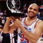 Appearing in his fifth All-Star Game, Philadelphia 76ers forward Charles Barkley scored 17 points and grabbed 22 boards to the East to a 116-114 win at Charlotte coliseum. His rebound total were the most in an All-Star Game since Wilt Chamberlain's 22 in 1967.