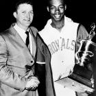 Only a rookie, Oscar Robertson gave everyone a glimpse of his potential, leading the West to a 153-131 rout of the East in Syracuse, N.Y. Robertson recorded 23 points, nine rebounds and 14 assists.