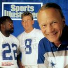 The 1994 Cowboys were just as solid as the '92 and '93 squads that captured  titles -- with one notable exception. Instead of Jimmy Johnson vying to become  the first coach in NFL history to win three straight Super Bowls, Cowboys  owner/GM Jerry Jones hand-picked the excitable Barry Switzer to helm the club  after Johnson's shocking dismissal before the April draft. Under Switzer, Dallas  started the year with six straight wins (on the way to a 12-4 mark) but could  never seize the upper hand on the 49ers' all-star cast of veterans, in the  regular season or NFC championship game. All in all, it was a commendable effort  in the wake of such turmoil. In fact, only a 2-3 record against playoff teams  justifies the Cowboys' lukewarm spot in this countdown.