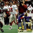 There's plenty to love about the 1998 Falcons, from their perfect home record  and monster turnover margin (plus 20) to the eight decisive victories against  top-notch competition. Throw in a major upset win (over the aforementioned  Vikings) in the NFC title game and a respectable loss to John Elway's greatest  Broncos team in Super Bowl XXXIV ... and you have one of history's most  undervalued clubs. How unsung was this group? The Dirty Birds' three biggest  offensive weapons were QB Chris Chandler, RB Jamal Anderson and WR Tony Martin.
