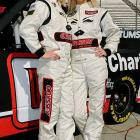 Angela and Amber Cope are NASCAR's first set of twins to compete in the same race in one of the sport's top-3 series. Inspired by their uncle and former Daytona 500 winner Derrike Cope, the twins made their Camping World Truck Series debut at Martinsville in 2010.
