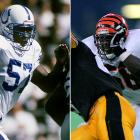 These NFL-bound linebackers separated when deciding where to play college football. Devon played for Notre Dame and was an integral part of the 1988 championship defense. Ricardo enrolled at Pittsburgh. Devon played four seasons in the pros while Ricardo suited up for 119 games in eight seasons, from 1992 to '99.