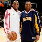 They began their college basketball careers at Central Florida, then transferred to Oklahoma State in 2002. Joey was drafted 16th overall by the Toronto Raptors in 2005 and Stephen went undrafted. Joey signed as a free agent in 2010 to play for the Cleveland Cavaliers.