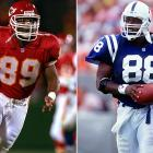 The Cash brothers formed a dual threat receiving option at the University of Texas. Kerry was a tight end who was drafted by the Indianapolis Colts in 1991 and Keith was a wide receiver selected by the Washington Redskins, also in 1991. Their NFL careers ended in 1996.