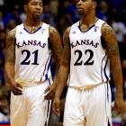 In November 2007, the Philly twins committed at the same time to play for Bill Self and the Kansas Jayhawks. After a promising 2010 campaign, Marcus has posted nearly 17 points and 7 rebounds as a 6'9 legitimate NBA prospect. Though he does not garner as much attention from scouts or coaches, the 6'10 Markieff has shown solid improvement, averaging nearly 14 points and nine rebounds per game.