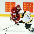 When the Coyotes took on the Bruins in Prague it was three Czechs who shined as the Coyotes downed the Bruins 5-2.  Radim Vrbata managed two goals and an assist, while fellow countrymen Petr Prucha and Martin Hanzal fired off four shots each.