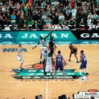 Behind newly-acquired swingman Nick Anderson the Sacramento Kings beat the Minnesota Timberwolves 100-95 in the Tokyo Dome.  It was the fifth year the NBA held season-opening games in Japan.