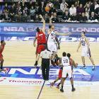 On March 4 and 5 the Toronto Raptors and the New Jersey Nets played the NBA's first regular season games staged in Europe.   While it was a monumental event, it's hardly the first time one of the four American professional sports leagues have ventured abroad during the regular season.  The following is a list of those international excursions.  Given that the NHL, NBA and MLB all have franchises in Canada, it has been excluded from the list.