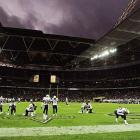 """Technically the """"home team,"""" the Saints put on a show for the London crowd in an offensive shootout.  Drew Brees threw for 339 yards, three TDs and the Saints downed the Chargers 37-32 across the pond."""