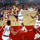 In 1990, the NBA became the first professional sports league to stage a regular season game outside of North America, as the Phoenix Suns took on the Jazz at Tokyo Metropolitan Gym.  In front of the relatively small venue, the Suns downed the Jazz 119-96.