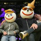 Jack (Nicholson?) In The Box and son were among the luminaries taking in all the mouthwatering action of a Clippers-Lakers game at fabulous Staples Center in Los Angeles on Feb. 25.