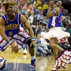 The Harlem Globetrotters employed what appear to be a former member of the Timberwolves and Bishop Desmond Tutu during a game against the Washington Generals at the Verizon Center in our nation's capital on March 5. Care to guess which team won?