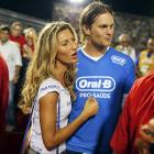 While NFL CBA talks went to pot, the Patriot pigskin chucker and his Brazilian supermodel squeeze made the scene at Carnival in fabulous Rio de Janeiro.
