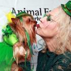 The TV personality really put on the dog at St. Pawtrick's Yappy Hour benefiting the Humane Society of New York at the Muse Hotel in fabulous New York City.