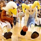 In another game, North Carolina dribbled past Boston College...