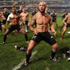 Meanwhile, down on the field, players from New Zealand auditioned for an Old Spice ad after beating England 29-17 to take home the overall championship.