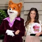 Stacey Solomon (right) learned at the Renaissance Chancery Court Hotel in London that beauty and celebrity surely attract wolves.