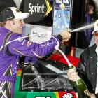 Matt Kenseth passed Kyle Busch, who led a majority of the race, with 25 laps to go to nab his third victory of the year and first win of the Chase season. With the win at Charlotte, Kenseth jumped from fifth to third in the Cup standings.
