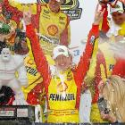 Kurt Busch further imperiled Jimmie Johnson's reign by outlasting the five-time champ down the stretch at the Monster Mile. Busch pulled away from Johnson after a late restart to win his second race of 2011. This was Busch's first career victory at Dover.