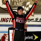 """Smith held off Carl Edwards on two restarts to win a green-white-checkered finish at Darlington, giving him his first career Sprint Cup victory. The 2008 Rookie of the Year is the sixth driver to score his first win at the track """"Too Tough to Tame"""" and the first since Lake Speed in 1988."""
