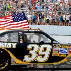 Ryan Newman led a 1-2 finish for Stewart-Haas Racing, beating car owner and teammate Tony Stewart across the line. It was Newman's third victory at Loudon and his second since he joined Stewart-Haas in 2009.