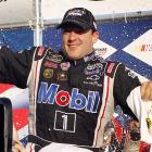 A week after winning the Geico 400, Tony Stewart became only the second driver ever to open the Chase with consecutive victories by taking the checkered flag at New Hampshire Motor Speedway. Thanks in part to conserving fuel, Stewart overtook Clint Bowyer with only two laps to go as Bowyer ran out of gas.