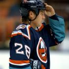 "After parts of eight seasons with the Islanders, the oft-injured defenseman retired in 1997 due to the effects of three concussions, the first suffered in early in the 1995-96 season when he was hit from behind by Eric Lacroix of the Kings. ""Riding in that ambulance, I thought my head was going to explode,"" he told  Newsday  after one instance. Against the advice of doctors, Vaske tried to make a comeback with Boston for 1998-99 but played in only three games before hanging up his gear for good."