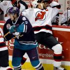 The bruising Hall of Fame defenseman who delivered notorious bone-rattling hits on Eric Lindros, Paul Kariya, Slava Kozlov and Ron Francis was concussed when hit in the head by a Pavel Kubina slap shot during the 2003 playoffs. Stevens played through the symptoms en route to winning the Stanley Cup with the Devils that spring, but had to retire in January 2004 due to post-concussion syndrome.