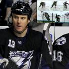 Tampa Bay Lightning defenseman Pavel Kubina was given a three-game suspension for throwing an elbow to the head of David Bolland, the Chicago Blackhawks forward. The hit did not draw a penalty, but Bolland was dazed. He left the game and did not return.