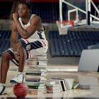 During his three years at UConn, Emeka Okafor was one of the top defensive players in the nation. He also won All-America honors, the Final Four's Most Outstanding Player award and a national championship. Okafor, the NCAA Defensive Player of the Year during his junior season, blocked a school-record 4.3 shots per game in his UConn career.