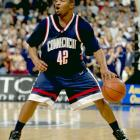 During the best three-year span in UConn history, Khalid El-Amin was at the helm. The clutch point guard scored the final four points in the 1999 championship game against Duke, giving UConn a 77-74 victory and its first national championship. He was All-Big East as a junior and spent a year in the NBA before heading overseas to continue his professional career.