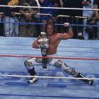 "WrestleMania XII was headlined by the WWF's first ever ""Iron Man Match"" between Shawn Michaels and Bret Hart. The goal of the match was to score the most pinfalls during the 60-minute match. The bout ended up going to overtime after neither competitor could score a pinfall with Shawn Michaels winning the match and the WWF title."