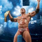 "The WWE invaded the Staples Center in Los Angeles for WrestleMania 21. In the main event, ""The Animal"" Batista defeated Triple H for the World Heavyweight Championship."