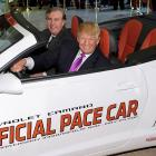 "As the presumptive Presidential candidate took the 2011 Indianapolis 500 Pace Car for a spin, the Obama Administration demanded to see The Donald's driver's license. ""There is reason to believe his license was issued in Kenya and that would disqualify him from all races, including the one for president,"" said our sauce at Foggy Bottom."
