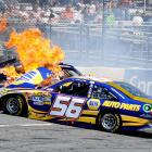 What we have here is some good ol' NAPA know-how when it comes to burning up the track at Martinsville.