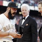 We hear the Giants closer with the distinctive rented beard was aghast to find that he'd been given a ring from a box of Cracker Jacks as reward for winning the 2010 World Series.