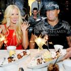 Well-rounded nutrition was one of the secrets of Ms. Jameson's cinematic success and she was happy to share it with mixed martial artist Tito Ortiz (his oil paintings are a smash, by the way) at her birthday celebration at the Sugar Factory American Brasserie in lovely Las Vegas.