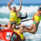 To see why these contestants fled screaming into the surf off Australia's Gold Coast,  CLICK HERE .