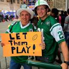 Gang Green partisans, who are prone to booing whoever their beloved team selects, should be careful what they wish for.