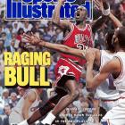"The year before Jordan devastated Cleveland with The Shot, he delivered back-to-back games of 50 and 55 points to lead the Bulls to a 2-0 series lead against the Cavaliers. Jordan became the first player to score 50 or more points in consecutive postgame games. ""Michael Jordan,"" Scottie Pippen said after Game 2, ""is God's gift to the world."" Chicago won the series in five games, with Jordan advancing to the second round for the first time in his four-year career."