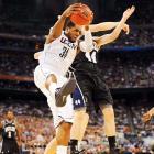 UConn center Alex Oriakhi had 11 points and 11 rebounds against Butler.