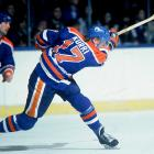 """The original """"Finish Flash,"""" Kurri teamed with Wayne Gretzky on the Oilers during his first eight years in the league and won four Stanley Cups, plus a fifth in 1990 after the Great One was traded to the L.A. Kings. Gretzky assisted on 364 of Kurri's 601 career goals, and when Kurri retired, he had scored more goals than any other European-born player (since passed by Jaromir Jagr)."""