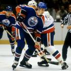 The Great One needed little time to establish his record-shattering offensive presence. He scored 51 goals during his debut NHL season in 1979-80 and started his string of eight straight Hart Trophies as the league's MVP. His 300th goal came in an 8-5 loss to the Islanders on Dec. 13, 1983. He remains the NHL's all-time goals leader with 894.