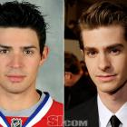 Carey Price  - Montreal Canadiens goalie  Andrew Garfield  - actor,  The Social Network