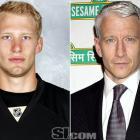 "Jordan Staal  - Pittsburgh Penguins center  Anderson Cooper  - CNN anchor,  ""Anderson Cooper 360"""