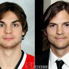 """Michael Frolik  - Chicago Blackhawks center  Ashton Kutcher  - actor,  """"That '70s Show"""""""